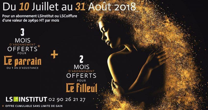 Offre de Parrainage LSInstitut - LSCoiffure - 3 mois offerts - lsinstitut.fr