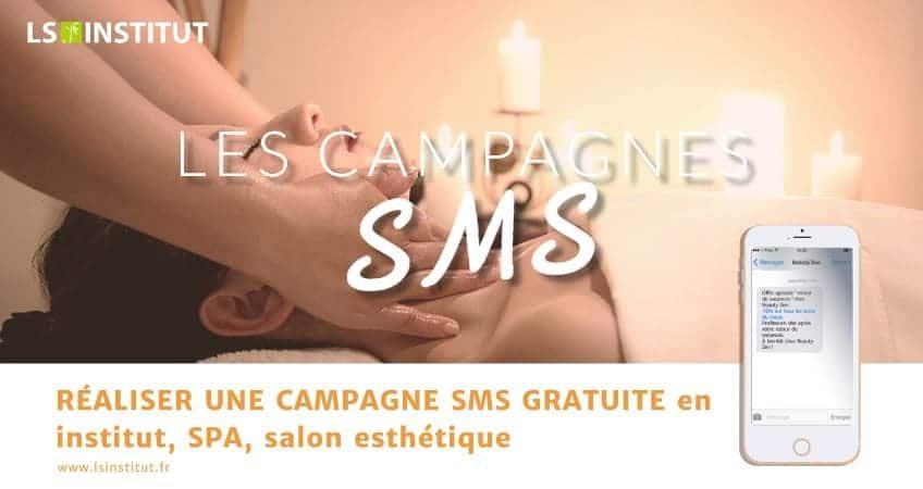 Réaliser une campagne SMS gratuite en salon esthétique
